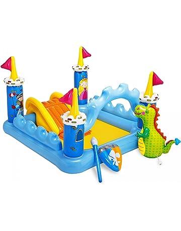 Intex - Centro de juegos hinchable: castillo, 178 litros, 185 x 152 x