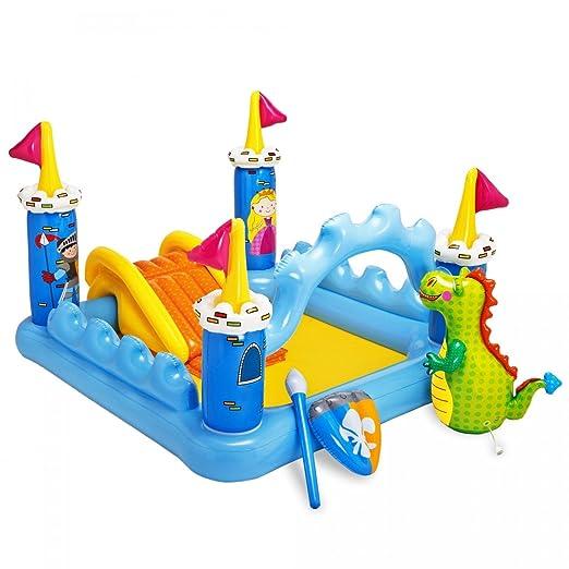 Intex - Centro de juegos hinchable: castillo, 178 litros, 185 x ...