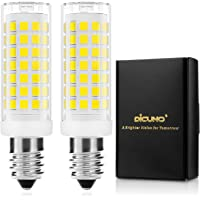 DiCUNO E14 LED Bulb Dimmable 4W (40W Halogen Equivalent) 430LM 220V Cool White(5000K) E14 Ceramic Base 2-Pack