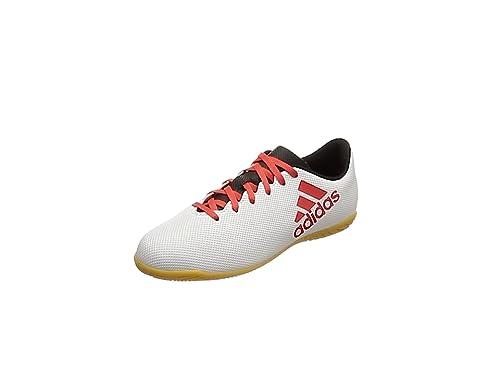 Adidas X Tango 17.4 In J, Zapatillas de fútbol Sala Unisex niño, (Gris