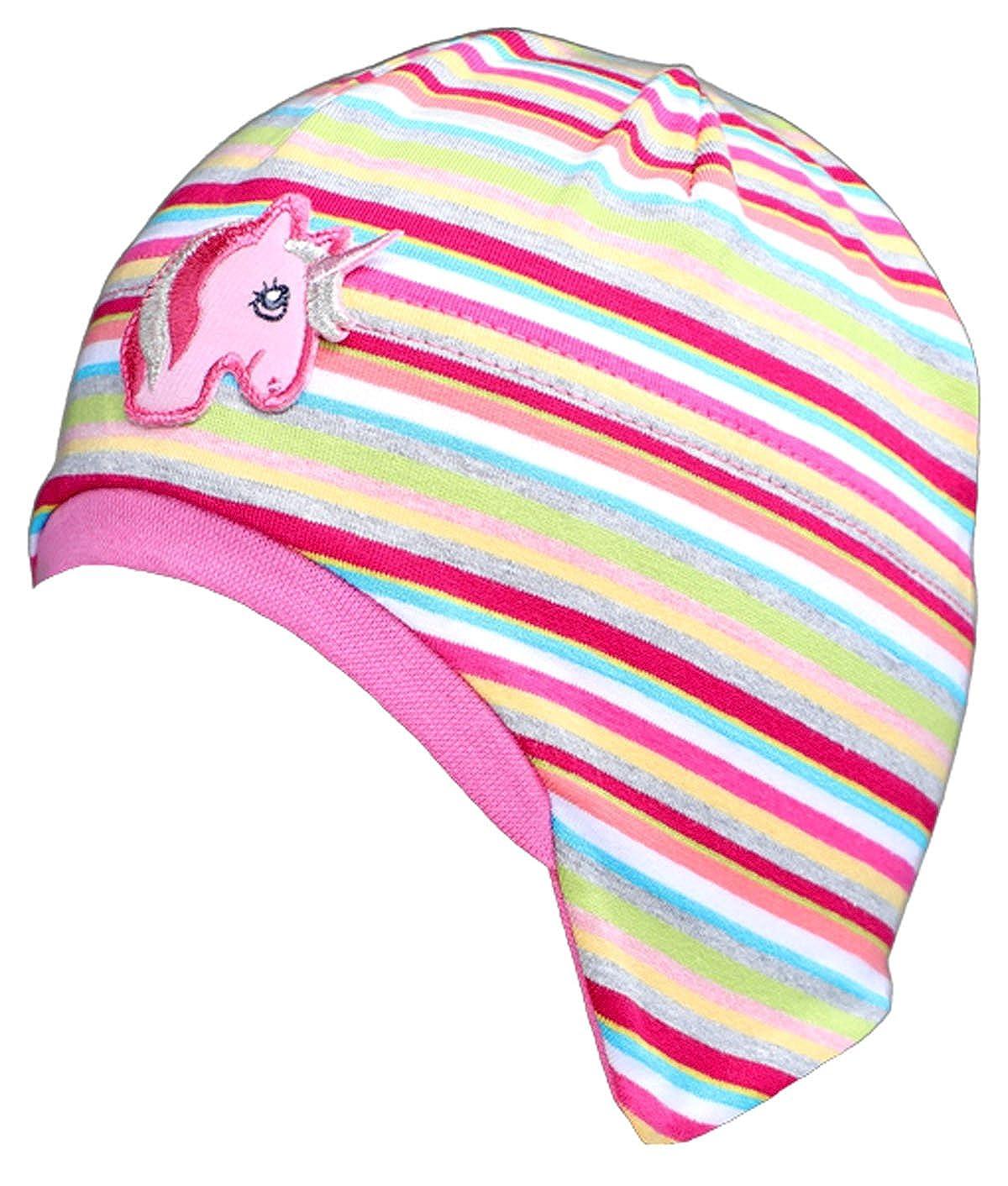 Babymütze Kinder Jerseymütze Gr 43-47 Fiebig Bindmütze Sommermütze neu