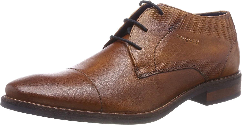 bugatti 311584014100, Zapatos de Cordones Derby para Hombre