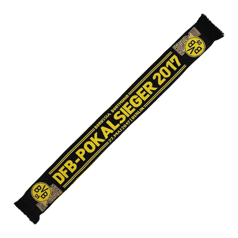 Schal//Scarf//rassis//viciado Begegnungsschal Sticker Dortmund Forever Borussia Dortmund BVB SCHAL zum DFB POKALSIEG kompatibel