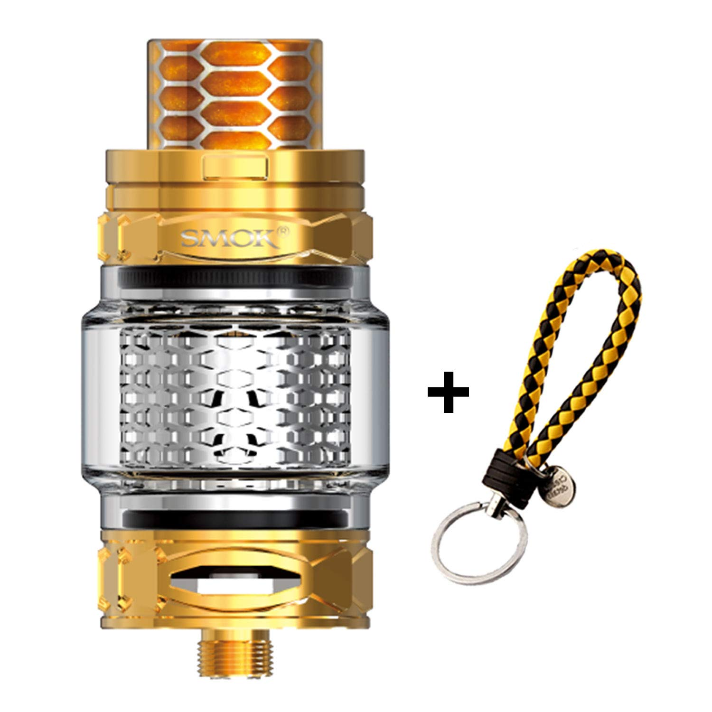 SMOK TFV12 Prince Tank Cobra Edition E Cigarette Atomizador atomizador Vape (100% original) Sin nicotina - Sin humo de aceite - Incluye llavero BTKSY ...