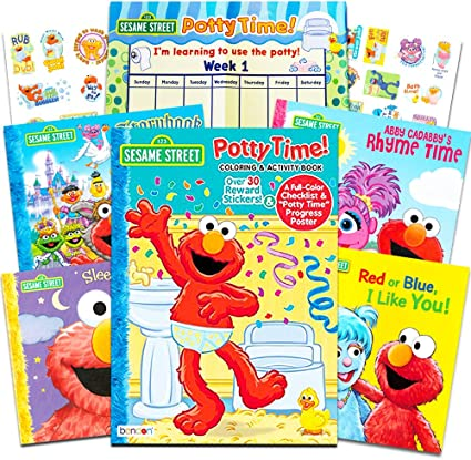 Potty Training Stickers Book
