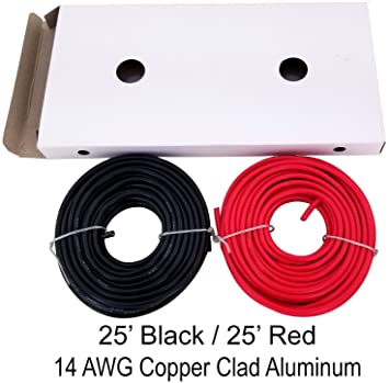 71cpr8%2BdVWL._SX355_ amazon com gs power 14 awg (true american wire gauge) cca copper