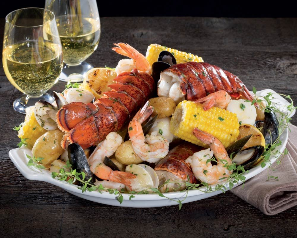 Kansas City Steaks Seafood Feast - 2 trays weighing 2lb 10oz each by Kansas City Steak Company
