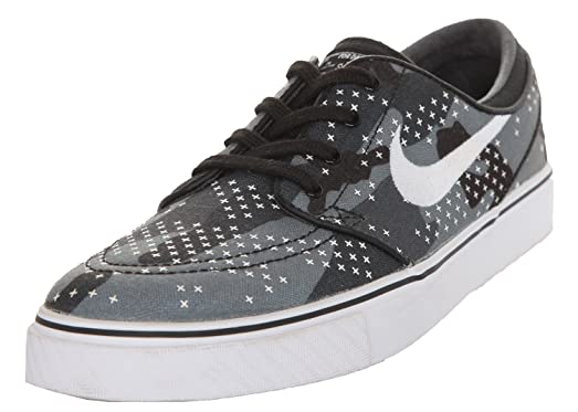 info for 112c1 d3454 ... where to buy nike sb men sneakers zoom stefan janoski cnvs prm grey black  white 705190