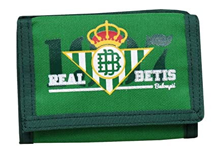 Real Betis Balompié 2018 Monedero, 13 cm, Multicolor