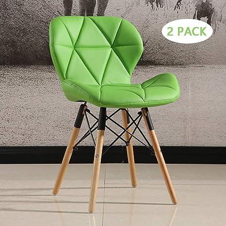 Amazon.com: MIMI KING - Juego de 2 sillas de comedor ...