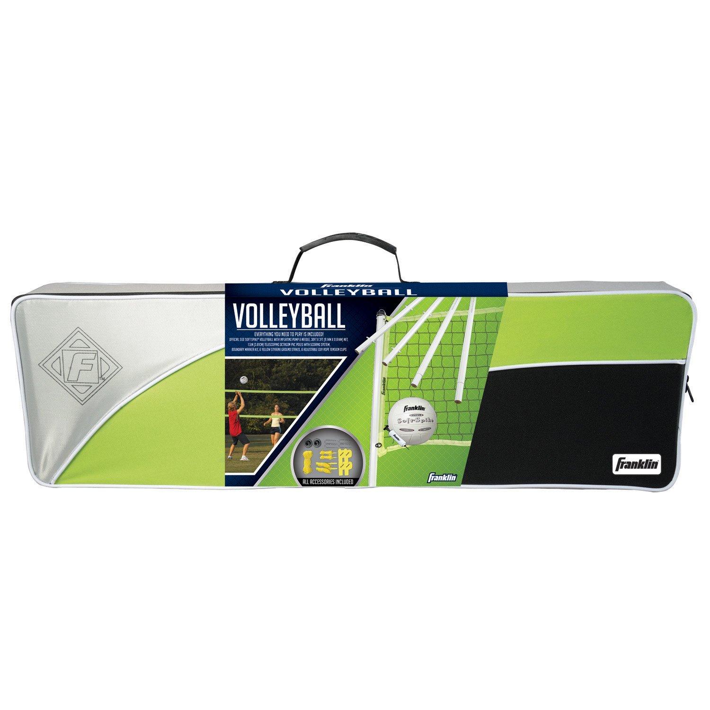 amazon com franklin sports advanced volleyball set general