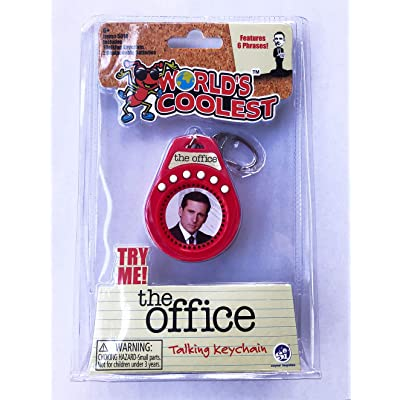 World's Coolest The Office Talking Keychain: Toys & Games