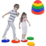 Special Supplies Stepping Stones for Kids, 5 Balance Indoor and Outdoor Blocks Promote Coordination, Balance, Strength, Child