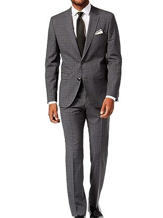 0e1ee5d8e Amazon.com: Hugo by Hugo Boss Men's Virgin Wool Dark Suit (40 Regular,  Charcoal): Hugo Boss: Clothing