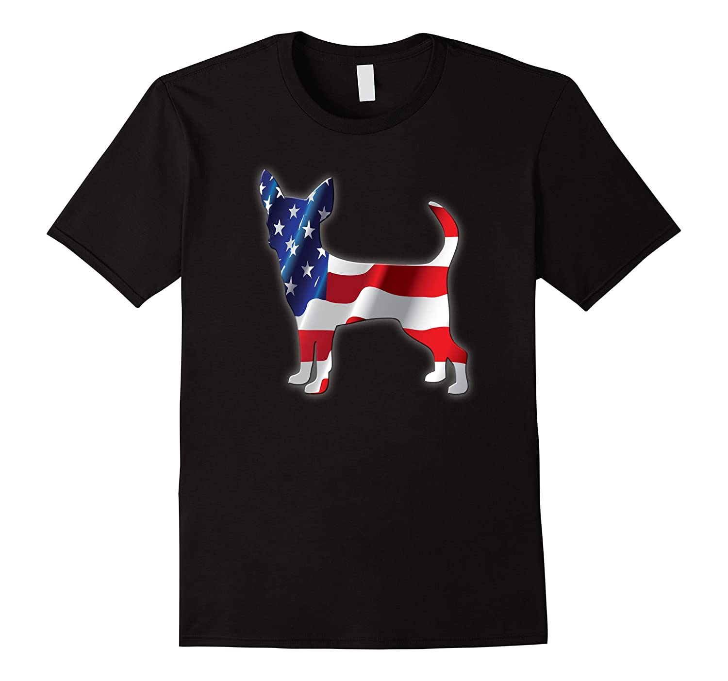 4th of July T-shirt PATRIOT CHIHUAHUA for all Dog Lovers-PL