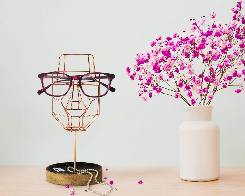 Design 11 /並/行/輸/入/品 storeindya Wooden Eyeglass Holder Spectacle Display Stand Desk Glasses Holder Handcrafted Display Optical Accessories