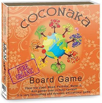 Coconaka. Fascinante y dinámico Juego de Mesa Educativo para la Familia sobre Plantas en Crecimiento.: Amazon.es: Juguetes y juegos