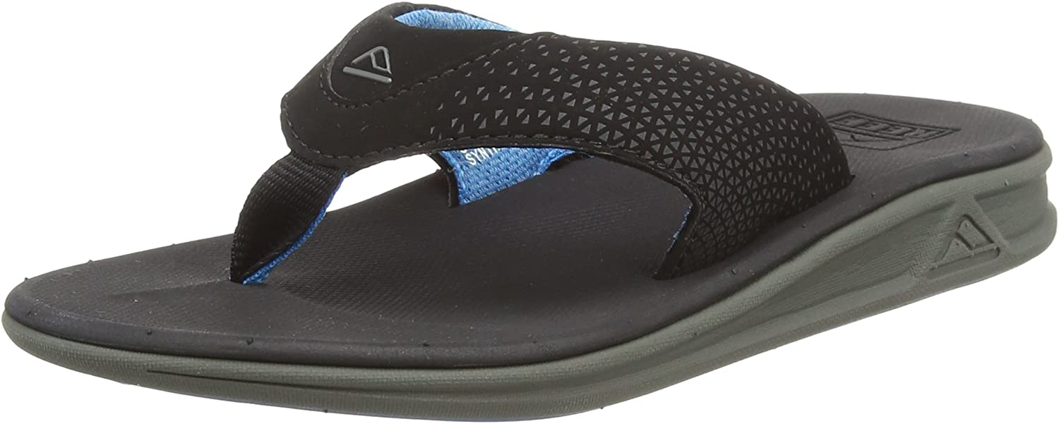 Athletic Flip Flops for Men with Soft Cushion Footbed REEF Mens Sandals Rover