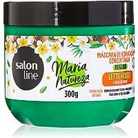 Salon Line Creme Tratamento 300G Maria Natureza Leite de Coco Unit, Branco