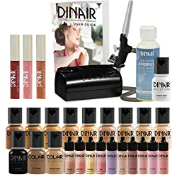 5. Dinair Airbrush Makeup Starter Kit