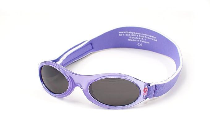 39f818a5c8536e Yoccoes - Lunettes de soleil - Bébé (fille) 0 à 24 mois multicolore Lilac  sunglasses, green case  Amazon.fr  Vêtements et accessoires