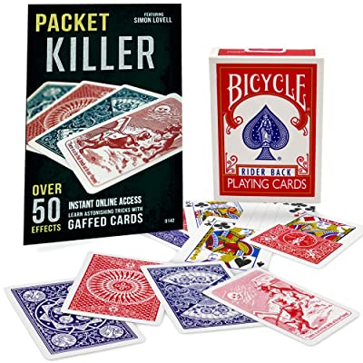 Packet Killer 45 Tricks with Special Bicycle Deck: Toys & Games