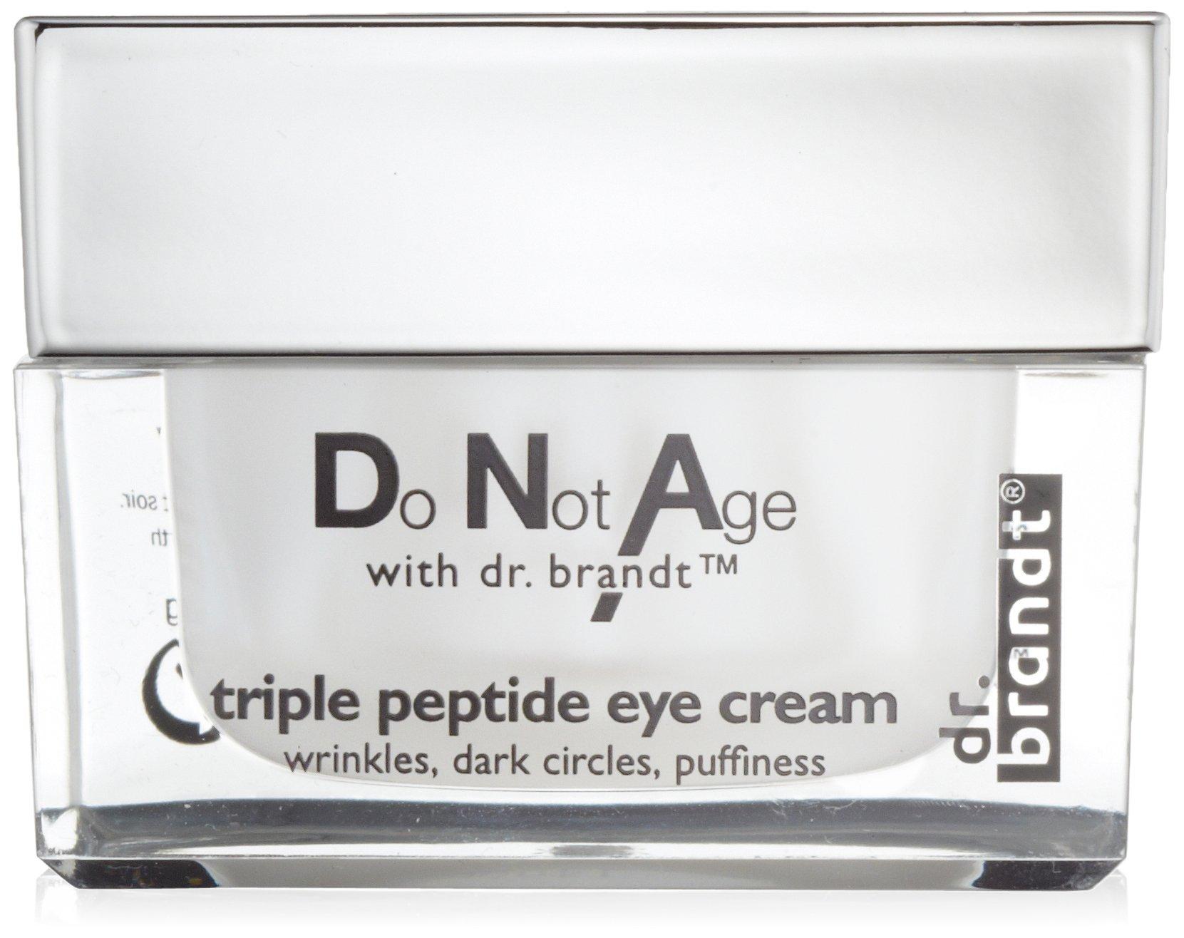 dr. brandt Do Not Age with dr. brandt Triple Peptide Eye Cream, 0.5 fl. oz.