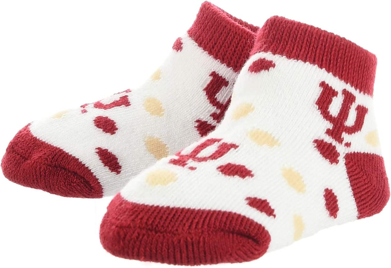 TCK Indiana Hoosiers Toddler Socks Low Cut Little Fan