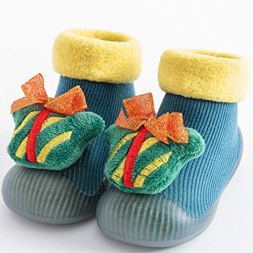 Breathable Crew Walk Socks Shoes for Infant Girls Boys Baby Toddler Sock Shoes Non-Skid Slipper with Soft Soles COUCOU