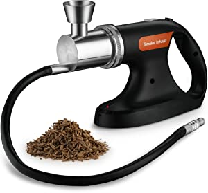 Mitbak Portable Handheld Cold Smoking Gun with Vacuum Sealer | Electric Food And Drink Cocktail Smoker Includes Pack of Woodchips | Indoor-Outdoor Smoke Infuser Machine Adds Smoky Flavor in Seconds