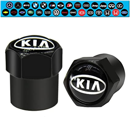 8 x negros de hule tapas válvula tapas para coches automóviles camiones motocicleta-nuevo