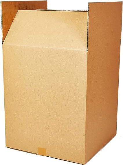 Paquete de 5 cajas de cartón para mudanza, grandes, resistentes, de doble pared, para mudanzas, de 762 mm x 508 mm x 508 mm: Amazon.es: Oficina y papelería