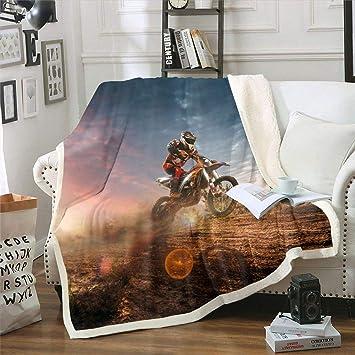 Motorcycle Rider Blanket