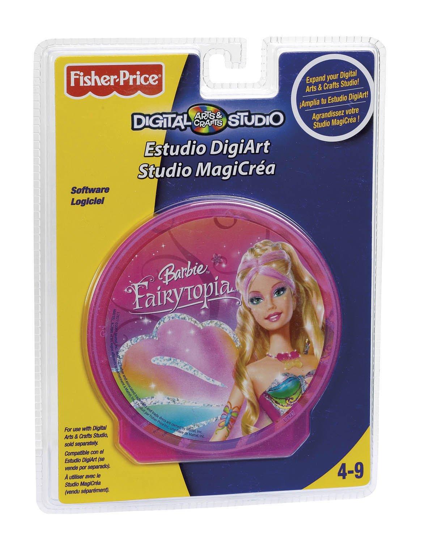 Fisher Price Barbie Fairytopia Cartucho para Estudio DigiArt