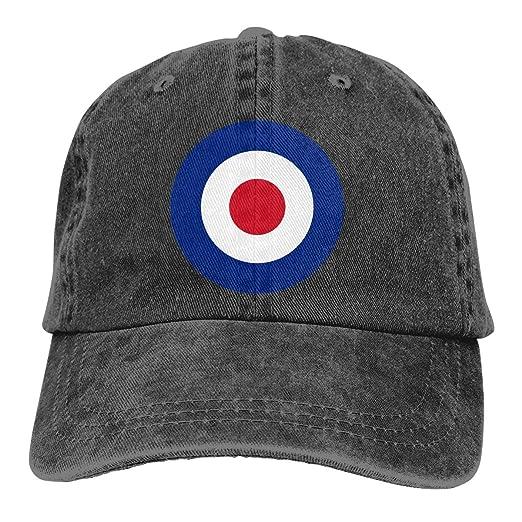 Round British RAF Royal Air Force Outdoor Dad Hat Adjustable Hat Trucker Cap  Baseball Cap at Amazon Men s Clothing store  9539dbfeca3