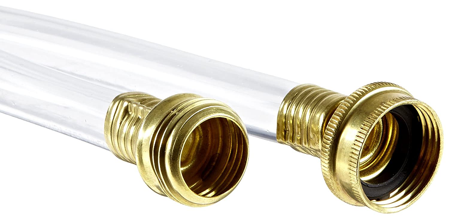 UltraTech 1792 Drainage Hose, 25' Length, Clear, For Ultra-Pipe Drip Diverter