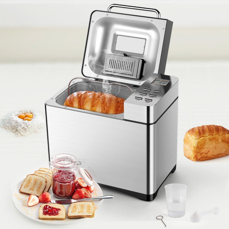 Máquina de pan Aicok: Amazon.es: Hogar
