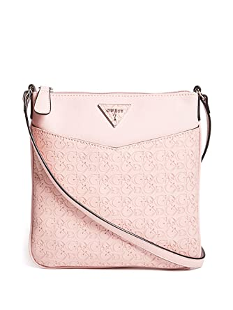 Amazon.com: GUESS Factory Womens Desire Logo-Embossed Large Crossbody: Clothing