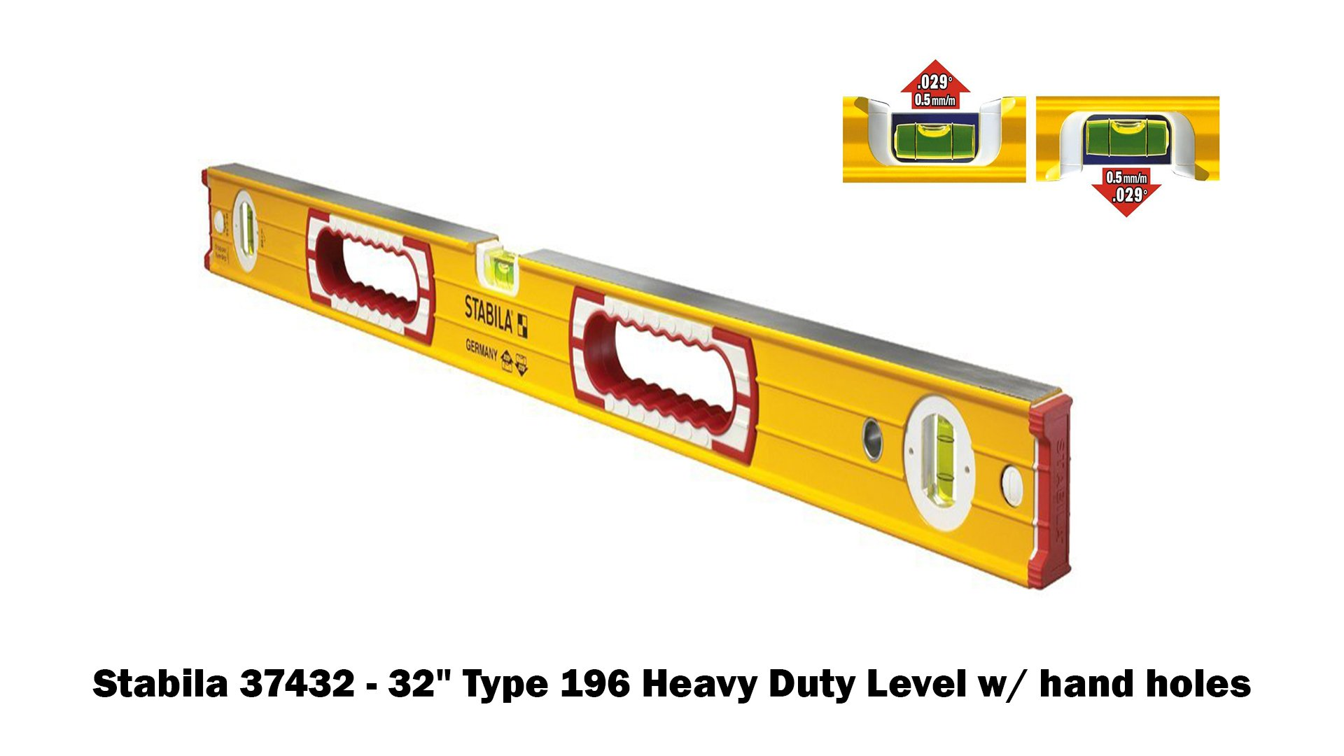 Stabila 196 Level Set Kit - 78''/58''/32''/24''/16'' Torpedo and Case by Stabila (Image #4)