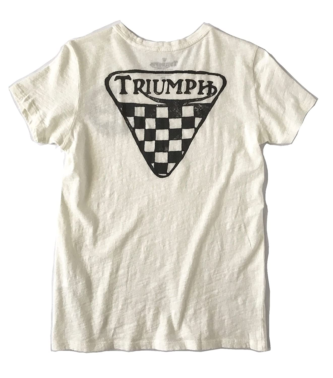 9f4aea8d4 Lucky Brand Women's Triumph 72 Tee Shirt Vintage Look at Amazon Women's  Clothing store: