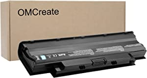 OMCreate Battery Compatible with Dell J1KND, Inspiron N5010 N5030 N5040 N5050 N7010 N7110 N4010 N4110 M5030 M5010 M5110 3520, Vostro 3450 3550 3750