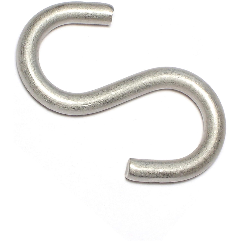 Piece-10 2-1//8 Hard-to-Find Fastener 014973207120 Medium WireS Hooks