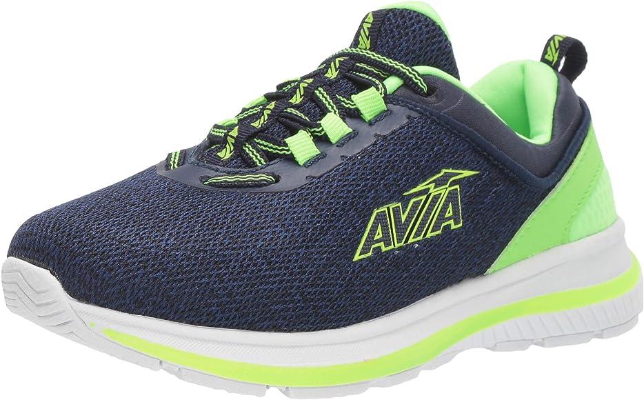 Avia Boys Avi-Factor Sneaker, Peacoat/Green Gecko, 12 Medium US Little Kid: Amazon.es: Zapatos y complementos