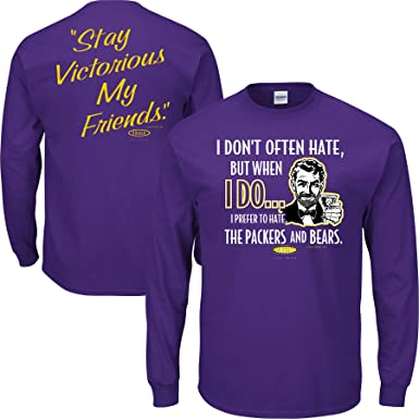 Sm-5X You Like That Purple T-Shirt Smack Apparel Minnesota Football Fans
