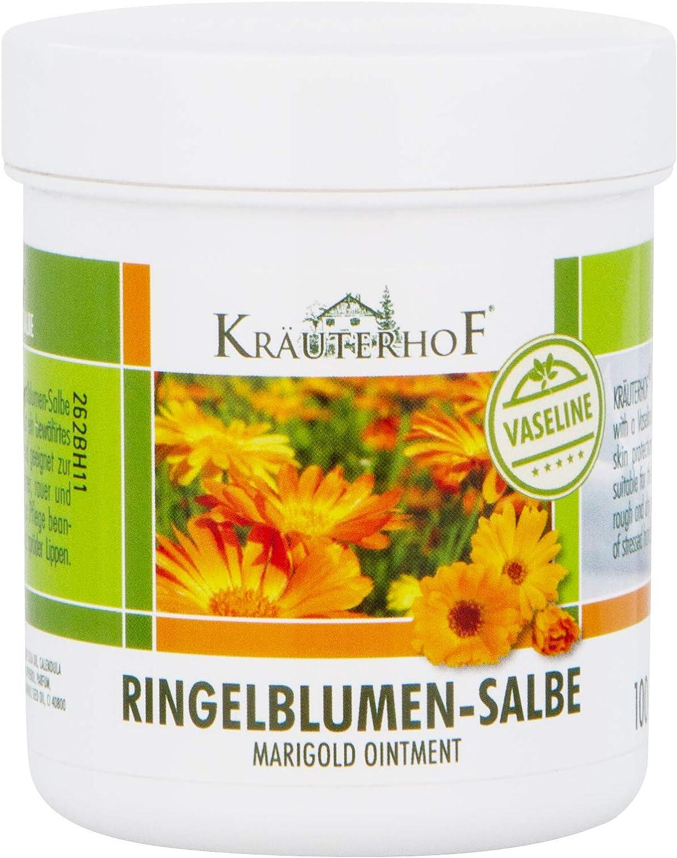 Kräuterhof Pomada de caléndula con vaselina 100ml