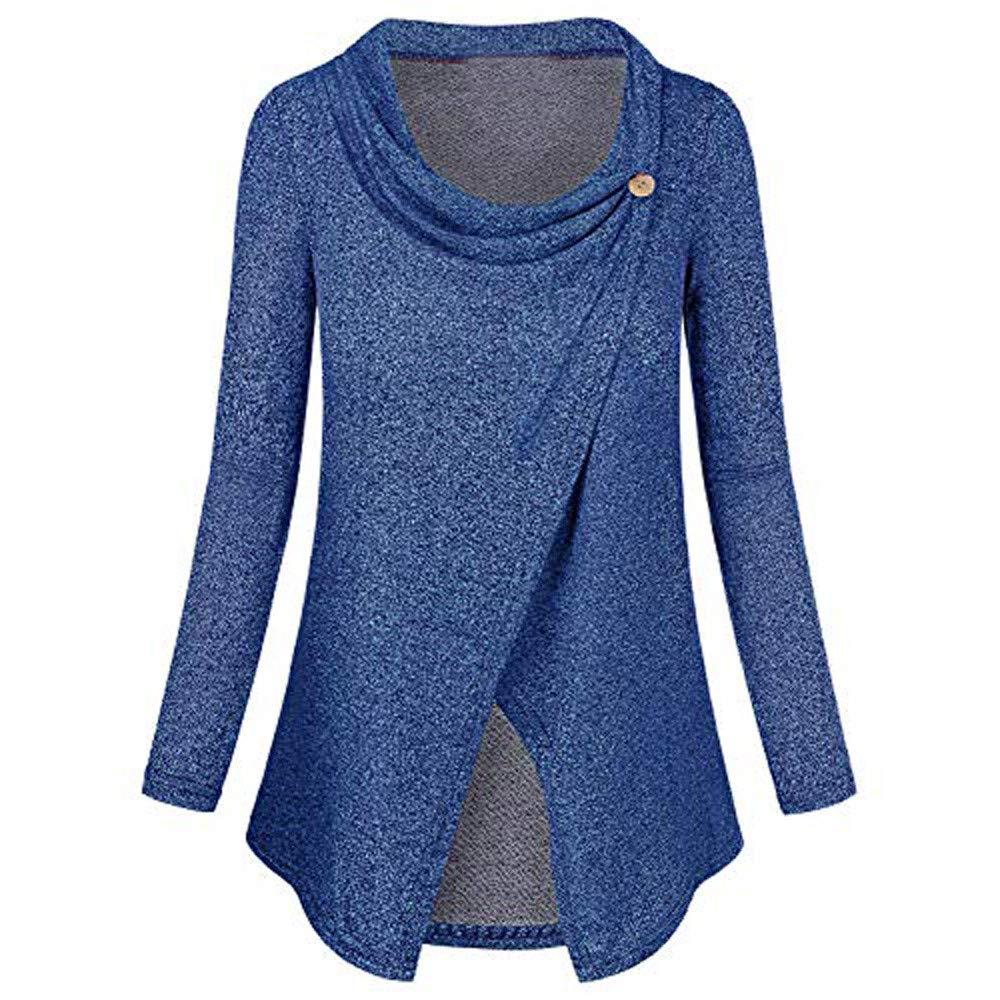 Damen Umstandsmode Stilltop Umstandstop Asymmetrischen Langarmshirt Umstandsshirt Stillshirt Stillen T-Shirt Bluse Umstandskleidung Schwarz Blau Rot. Saihui ❇ Weich und bequem Umstandsmode❇ ❇