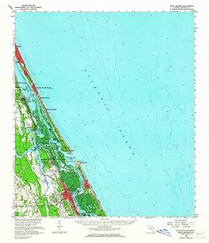 Amazon Com Yellowmaps Port Orange Fl Topo Map 1 62500 Scale 15 X