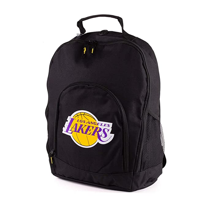 Forever Collectibles NBA Los Angeles Lakers Back To School Backpack Black Bag Rucksack Tasche: Amazon.es: Ropa y accesorios