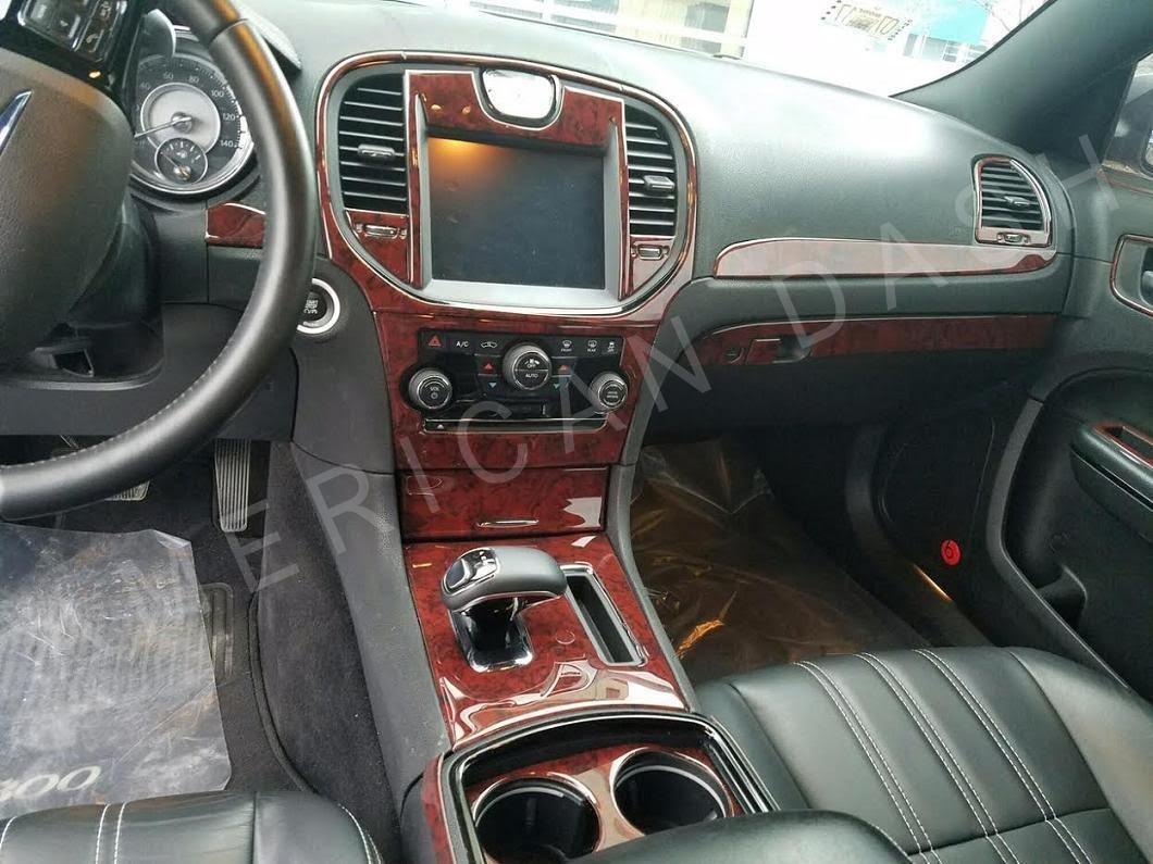 Chrysler 300 C 300C Hemi 300S S W/navegación Touring Interior de Madera del Burl Dash Juego de Acabados Set 2015 2016 2017: Amazon.es: Coche y moto