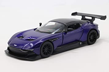 Buy Kidstokri Kinsmart 1 38 Scale Aston Martin Vulcan Die Cast Car With Openable Doors And Pull Back Action Blue Online At Low Prices In India Amazon In